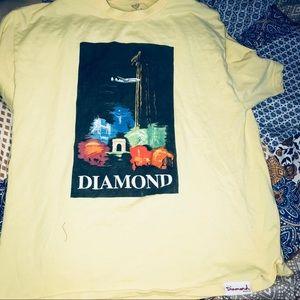 Men's diamond supply co shirt